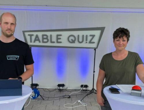 Table Quiz beim Fest der Sinne